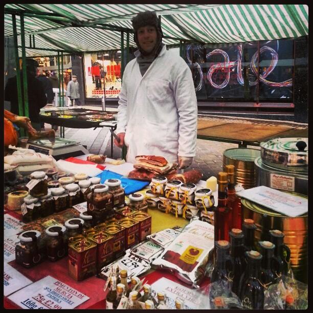 City Centre Briggate Leeds Farmers Market