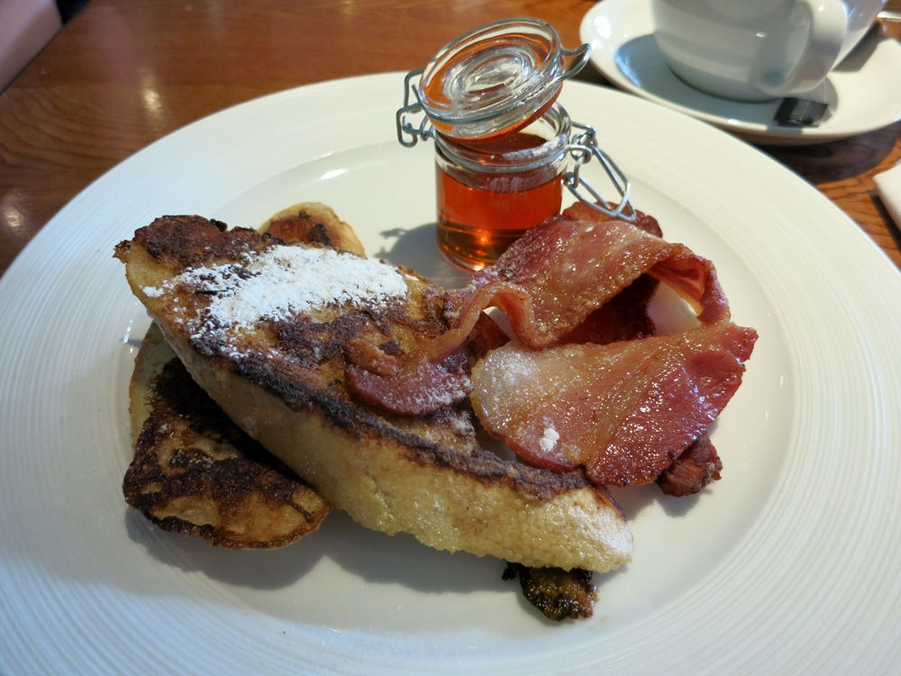 French Toast at The Hummingbird