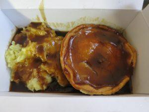 Steak Pie at Costellos Bakery Leeds