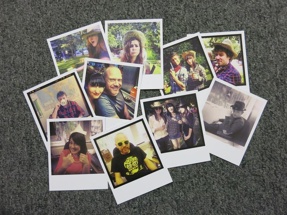 Instajunction - polaroid cards from instagram photos