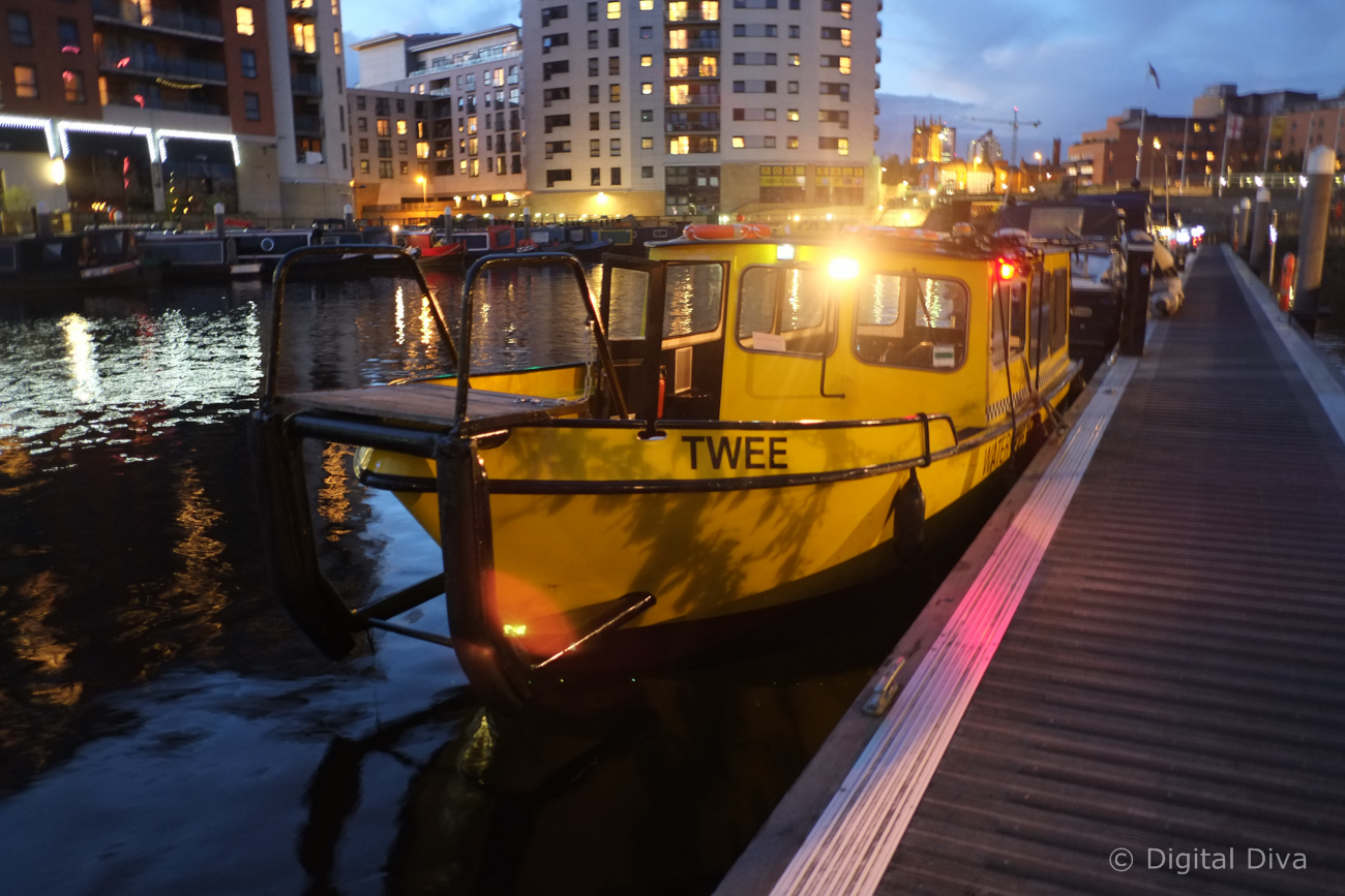 Leeds Dock Water Taxi
