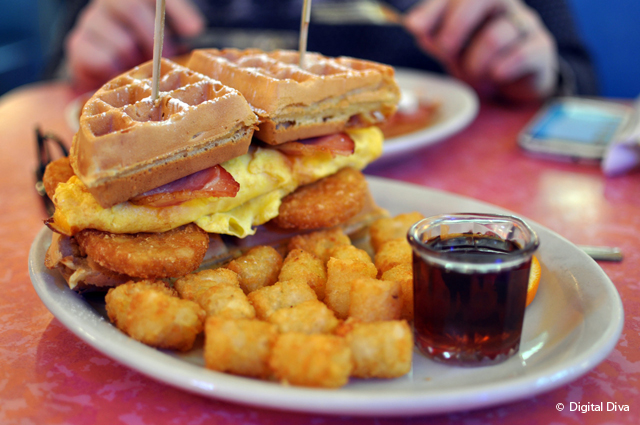 Breakfast in New York