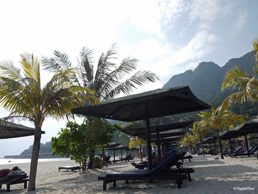 Beach at Berjaya, Langkawi