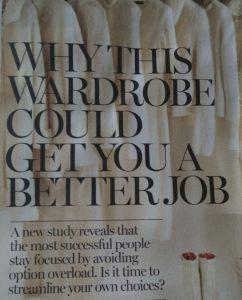 Decision Fatigue Wardrobe