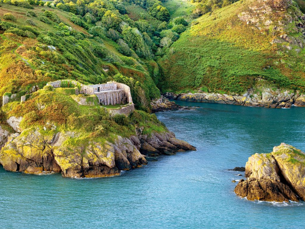 Bouley Bay in Jersey