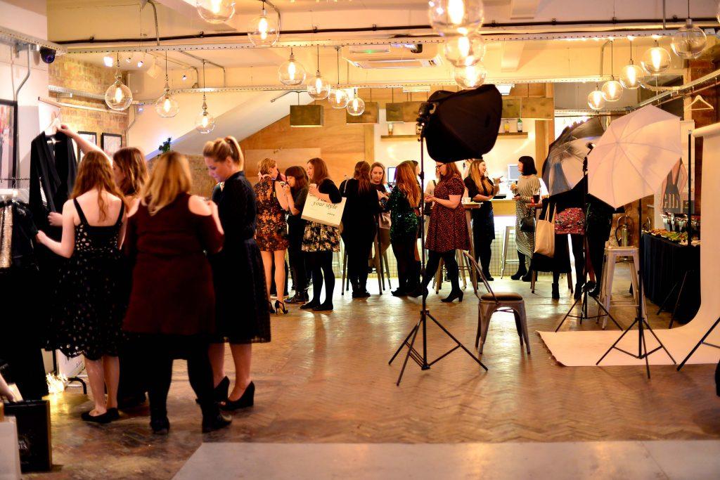 la redoute fashion bloggers Christmas party