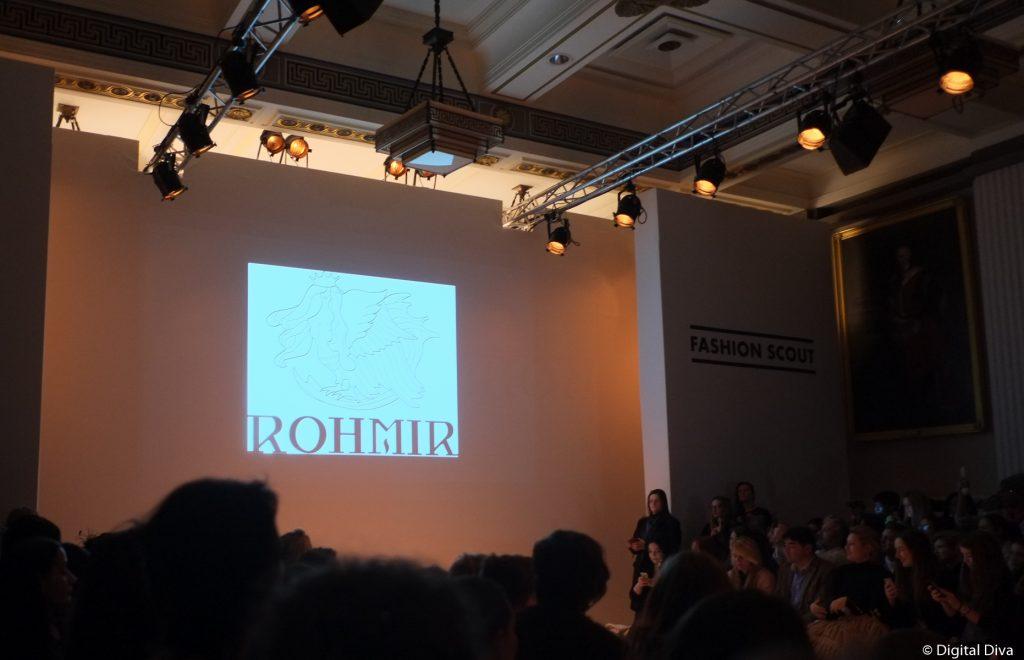 Rohmir at London Fashion Week