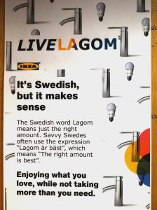 Live LAGOM sustainable home project