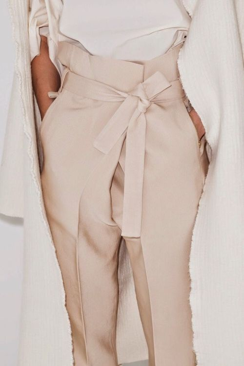 Claudia Bertini Wrap trousers