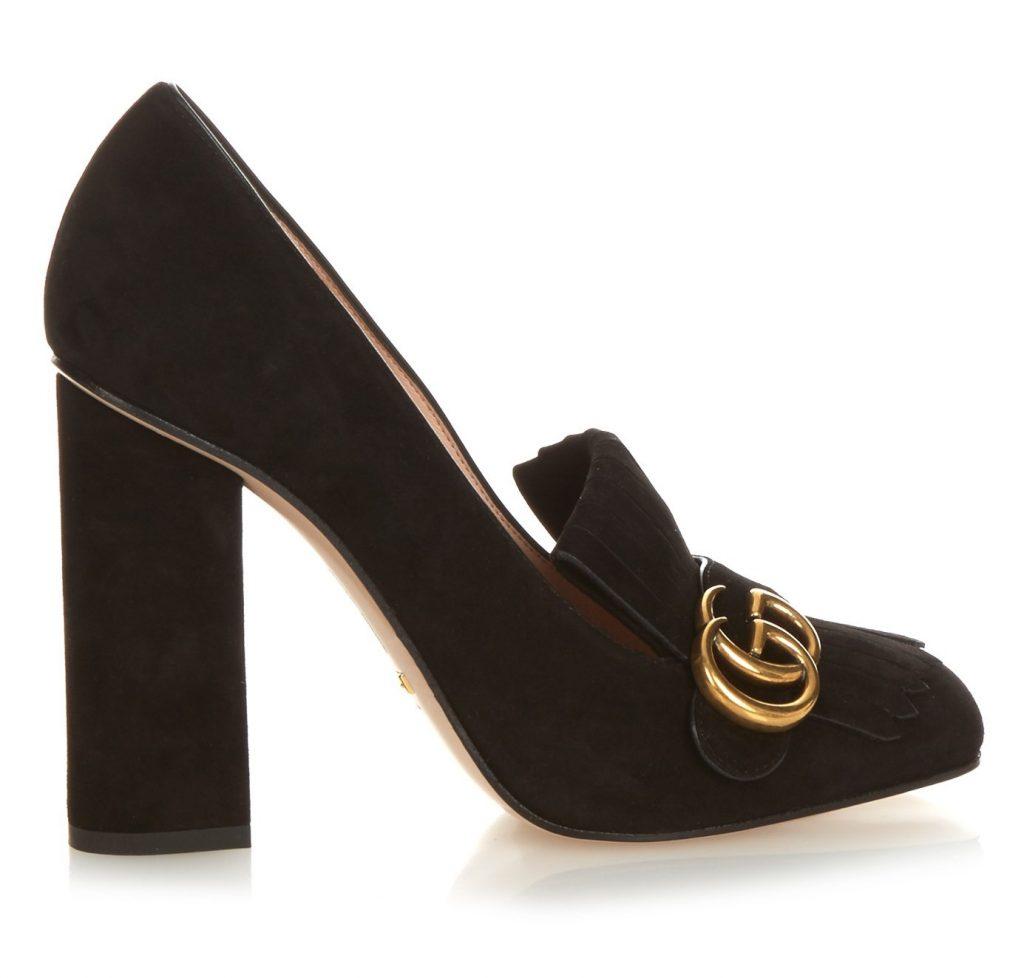 Gucci marmont Heels