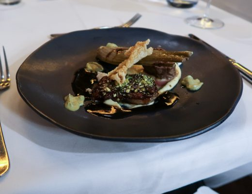 Lamb Dish at The New Ellington