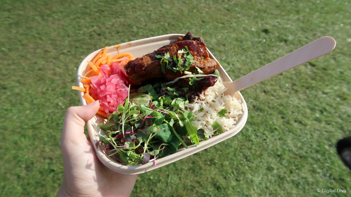 Food at OnRoundhay Festival