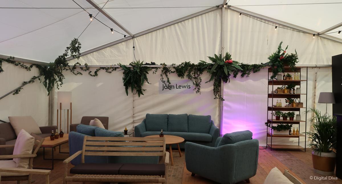 John Lewis VIP Tent
