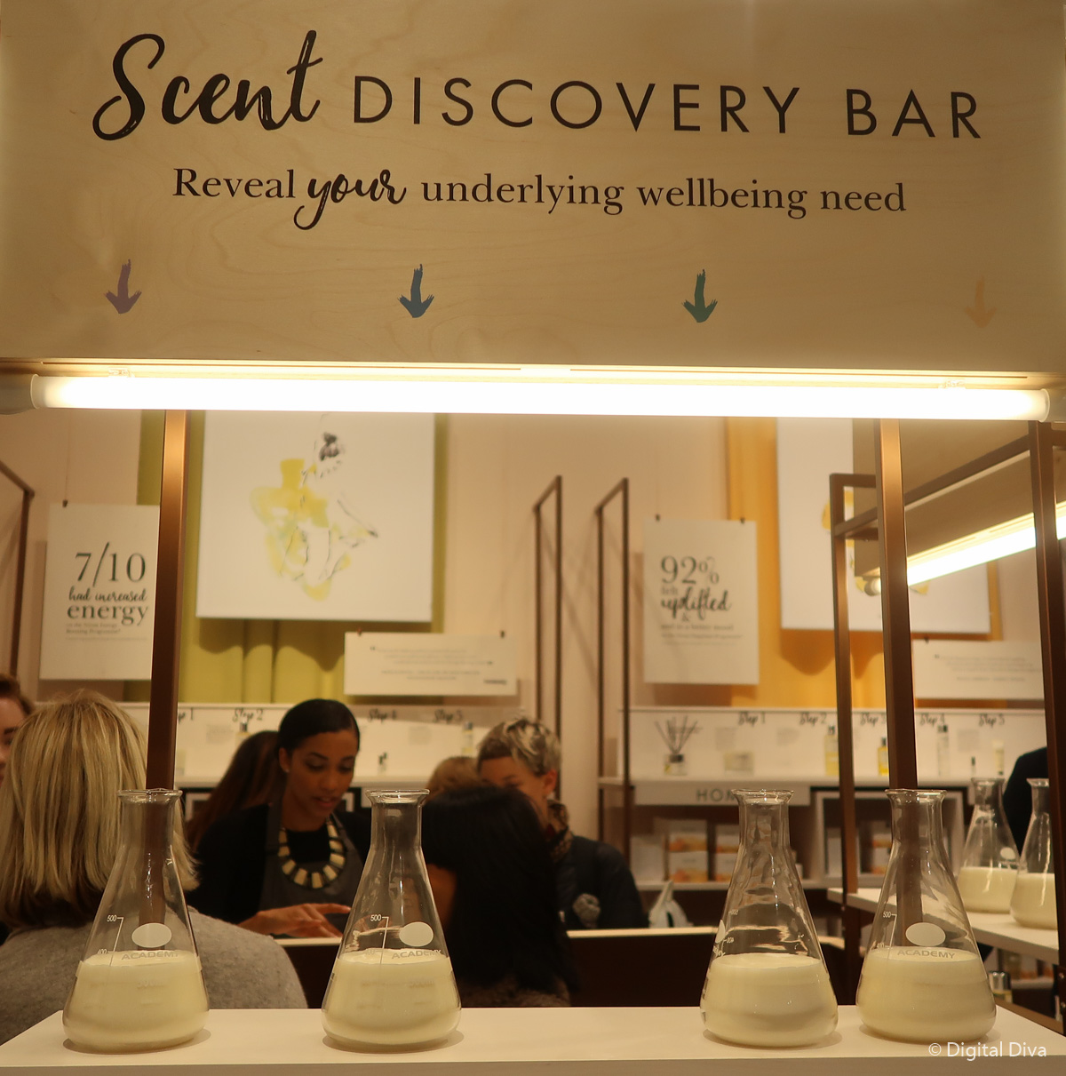 NEOM's Scent Discovery Bar