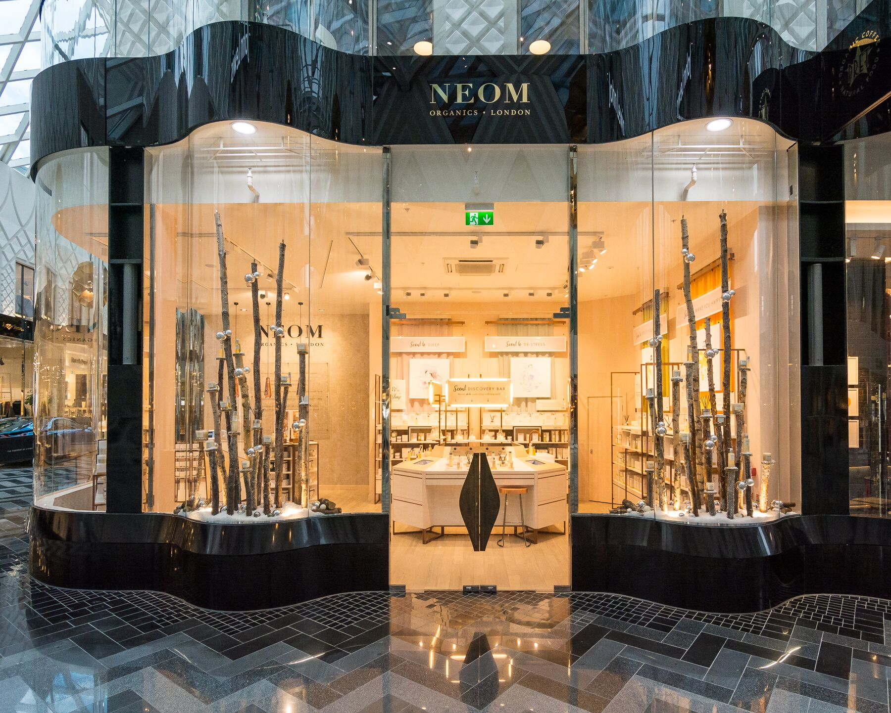 The NEOM store in Victoria Leeds
