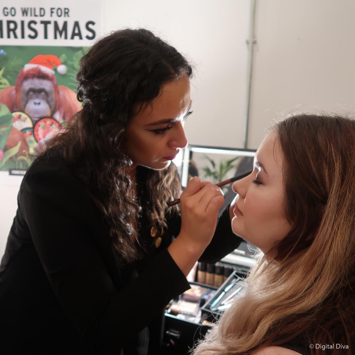The Body Shop's Makeup Artist