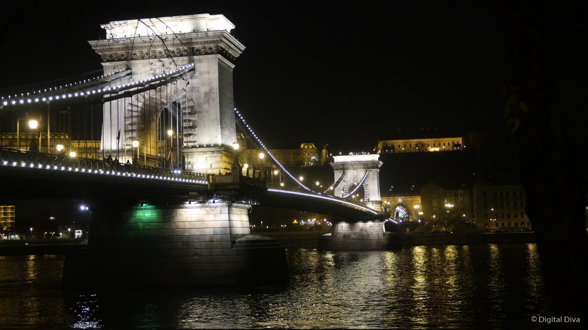 The views from the Danube Dinner Cruise in Budapest