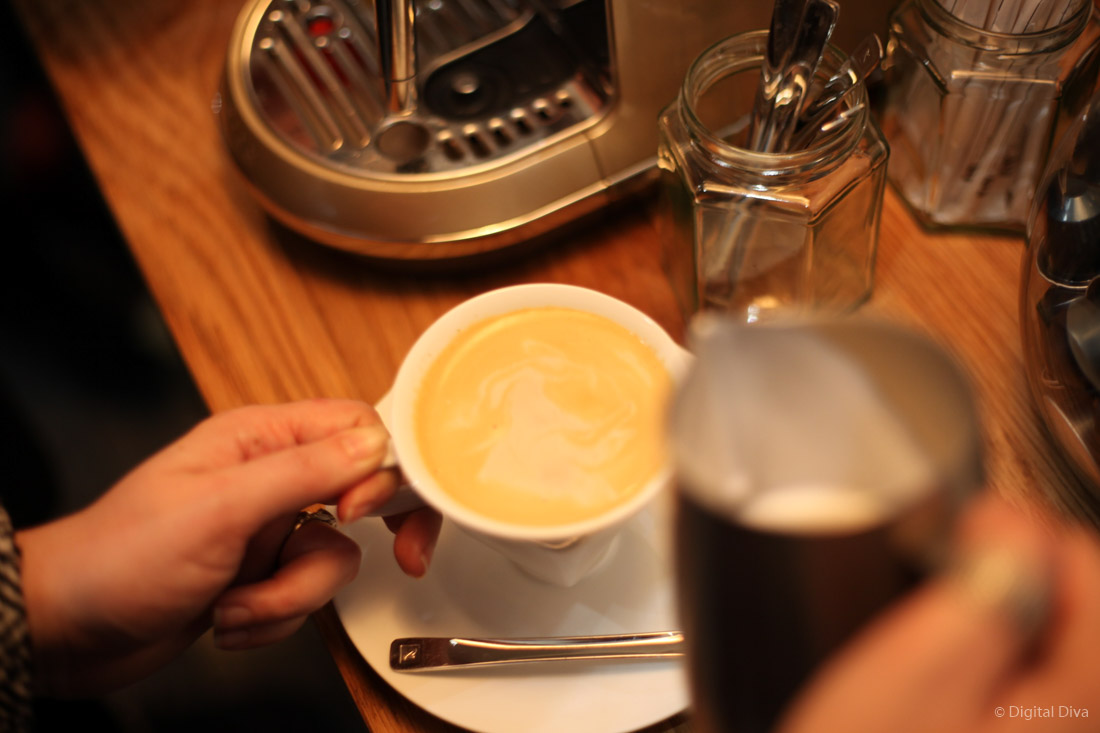 Creating Latte Art