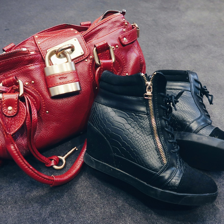 Chloe Handbag & Select Wedge Trainers
