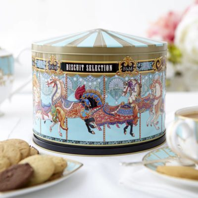 Merry Go Round Biscuits & Tin