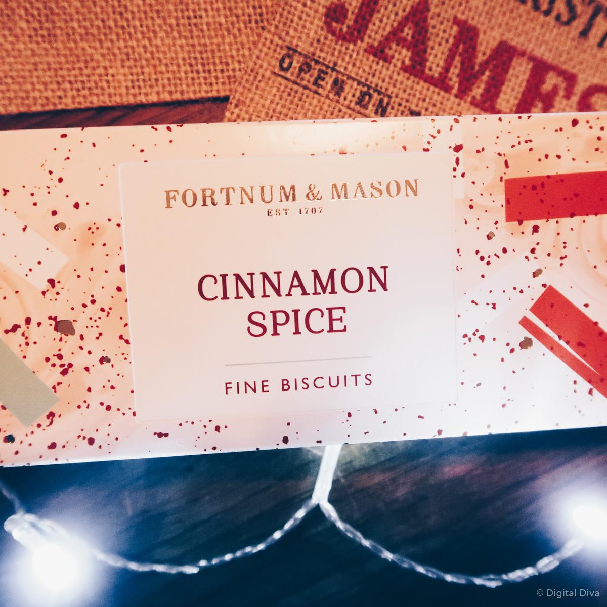 Fortnum & Mason Cinnamon Spice Biscuits