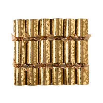 Mini Gold Leaf Crackers